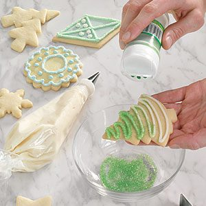 Simple christmas cookie decorating ideas