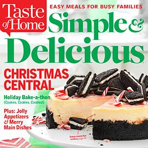 Save Now on Simple & Delicious Magazine!