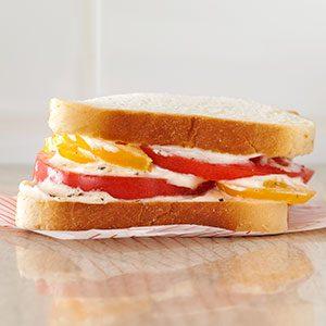 Tomato & Mayo Sandwich