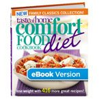 Comfort Food Diet Cookbook: Family Classics Collection