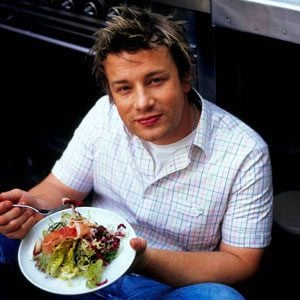 Across The Table From Jamie Oliver
