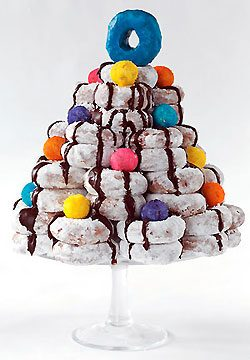 How to Make a Doughnut Tree